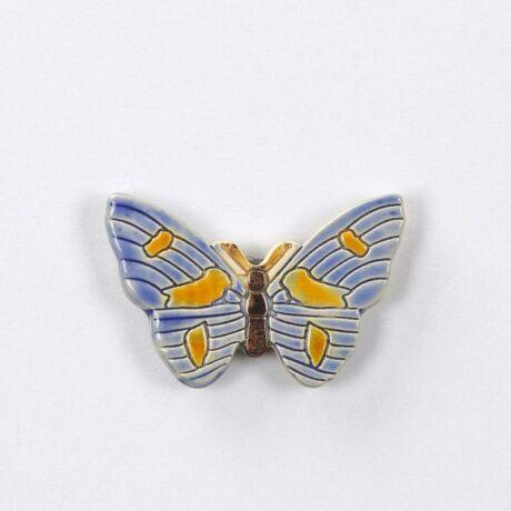 Pillangós hűtőmágnes kék
