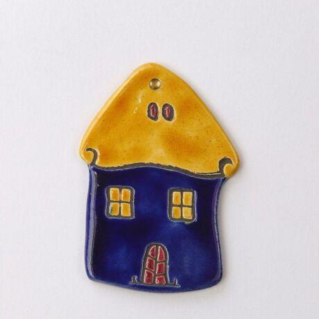 Fali házikó sárga-kék
