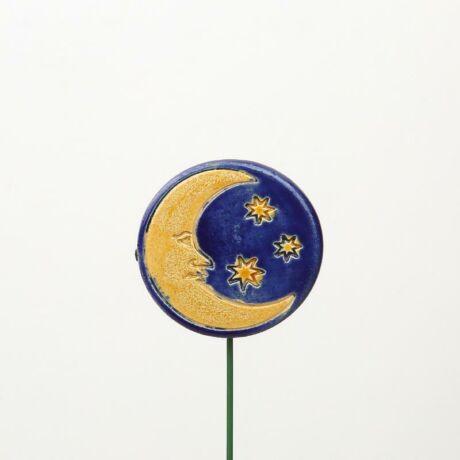 Beszúrható kerámia figura - hold
