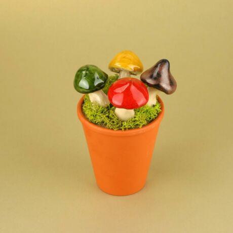 Színes kerámia gombák