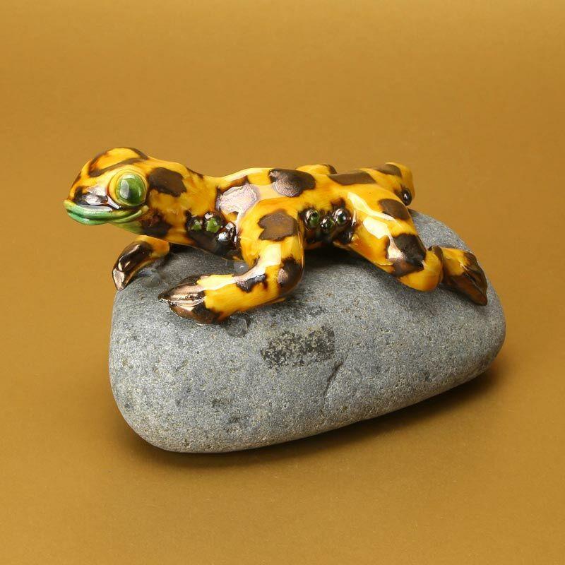Kövön ülő szalamandra