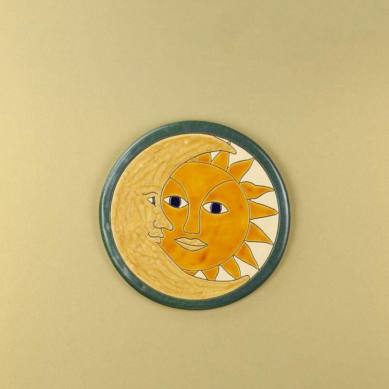 Nap-hold kerek kép
