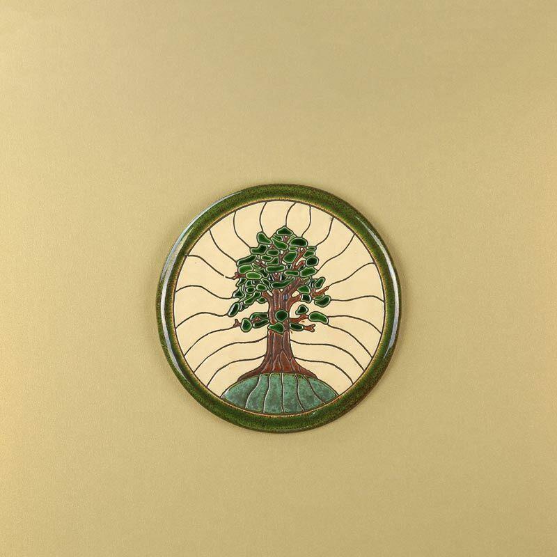 Életfa kerek kép