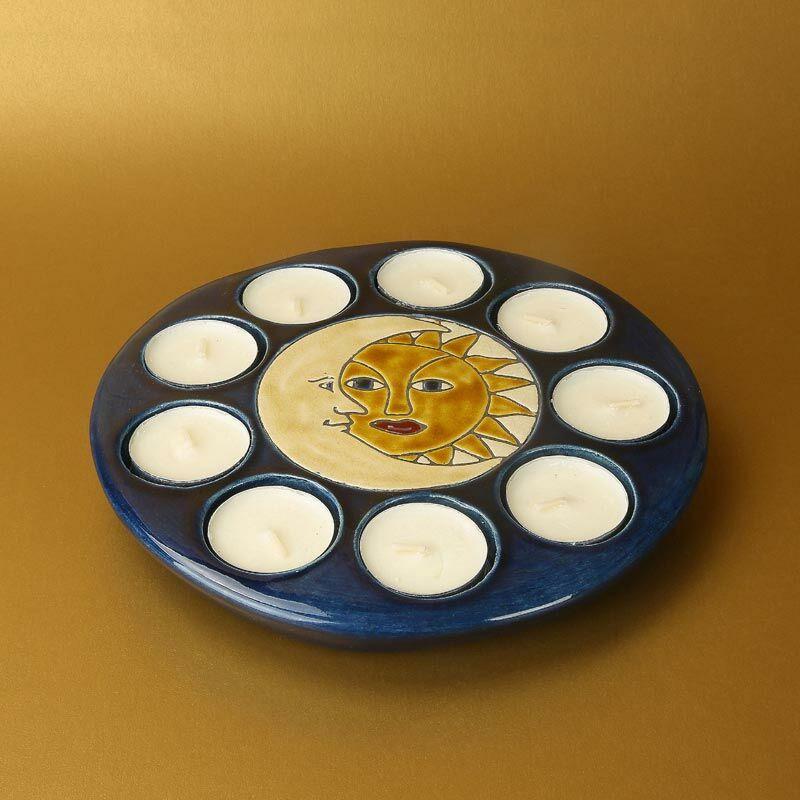 Nap-hold mécsestartó 9 db