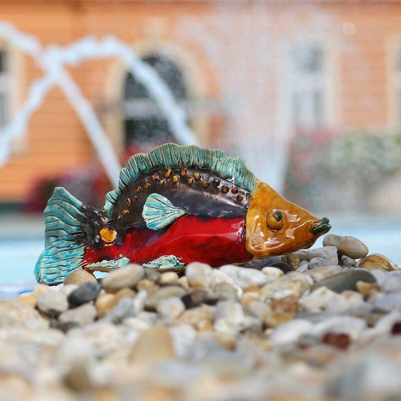 Nagy hal, színes