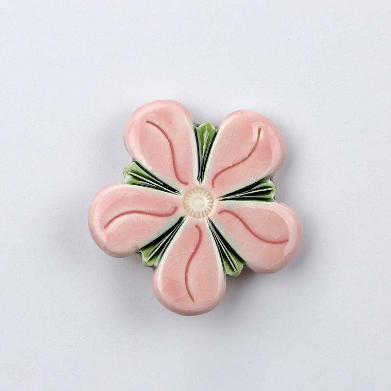 Kerámia viola - rózsaszín